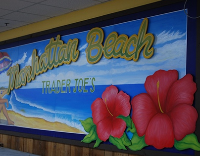 Manhattan Beach Postcard Murals