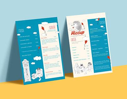 Menu Design and Illustrations
