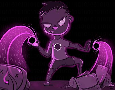 Programmer's Power Illustration