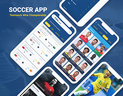 FIFA WorldCup Soccer App - Redesign