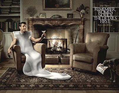 Grazia Magazine Adv Campaign