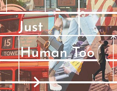 Just Human Too - digital zine