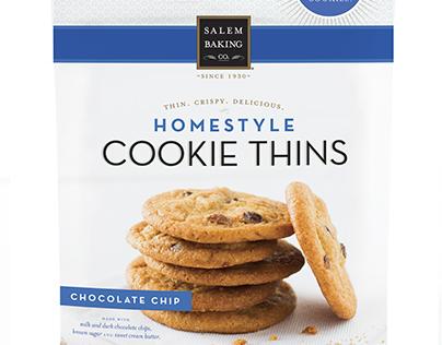 Salem Baking Co.  |  Cookie Thins Exploratory