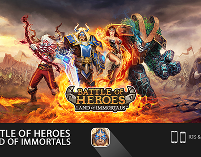 Battle of Heroes UI/UX