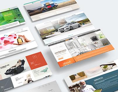 Web Design Projects Vol. 01