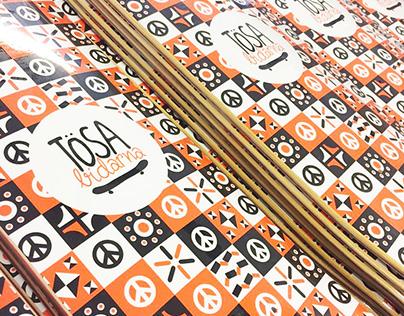 Tösabidarna - Illustration, pattern