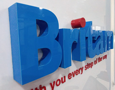 Britam Insurance Office Branding