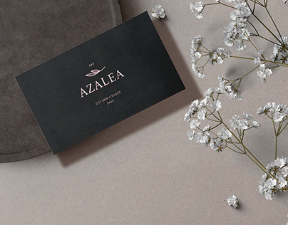 AZALEA - Wedding studio. Visual identity