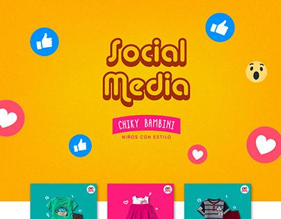 Social Media : Chiky Bambini (Ropa para niños)