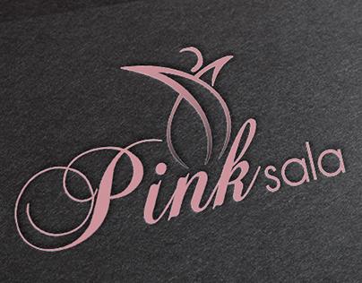 """""""Pink Sala"""" Logo design"""