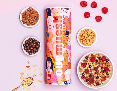MyMuesli Packaging Design