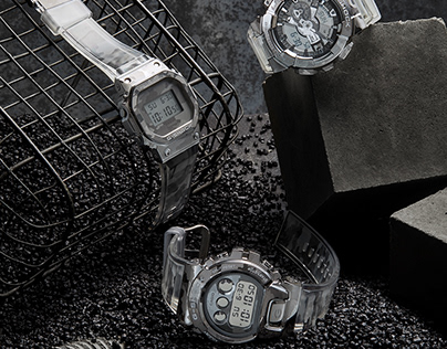 Casio G-SHOCK Skeleton Camouflage Watches