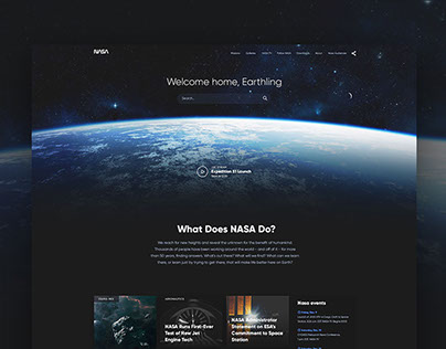 NASA Website Redesign