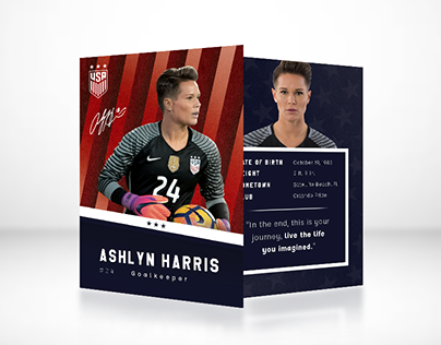 2019 World Cup Trading Cards - Concept Designs