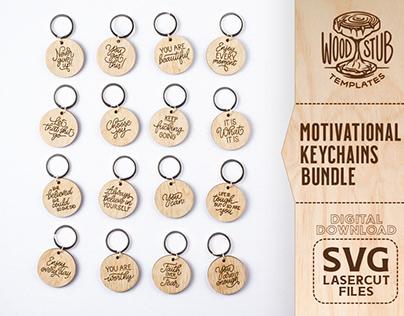 Motivational Keychains