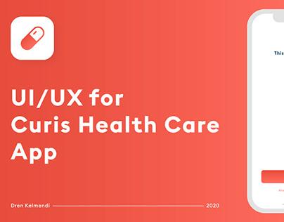 UI / UX Curis Health App