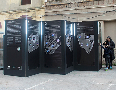 OBRE EL TUPPER_ / Interactive Installation