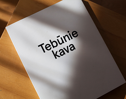 TEBŪNIE KAVA | Book about coffee making & discoveries