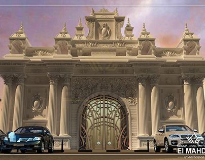 Al_Senussi palace gate design