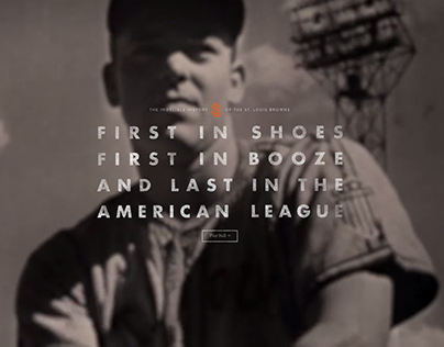 The St. Louis Browns Website