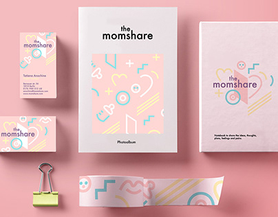 """The Momshare"" brand identity"