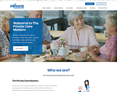 The Private Care Masters - #Design #App - Dean Infotech
