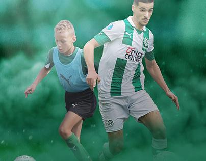Poster work for Fc Groningen