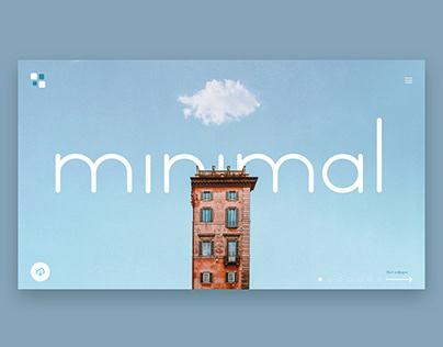 Minimal Ui landing page