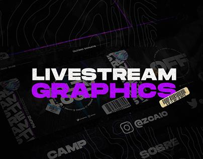 #1 Twitch Livestream Design   Stream Package/Overlay
