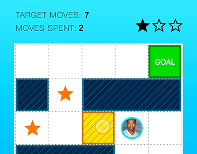 Mobile Puzzle Game Concept Art Design
