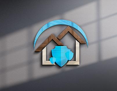 Логотип защите квартир и домов