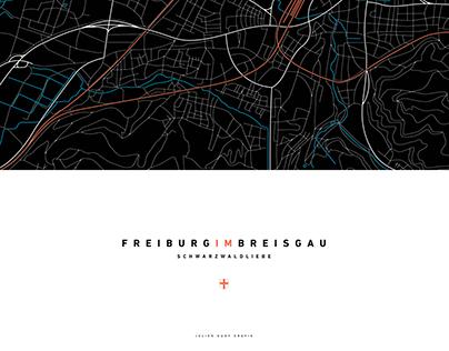 Freiburg im Breisgau The Map
