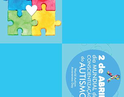 Dobradura sobre Autismo