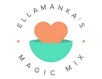 Ellamanka's Magic Mix I Logo Design