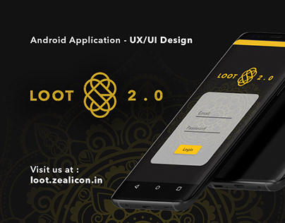 Loot 2.0 | UX/UI Design | Android Application
