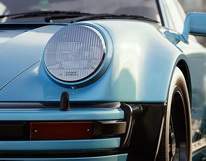 Porsche 911 (930) Unreal animation.