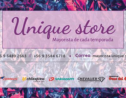 Anaís y Unique Store