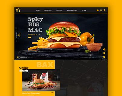 McDonald's Website Redesign