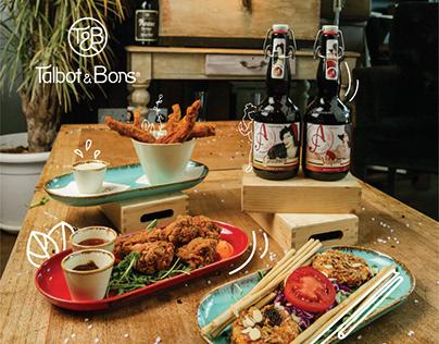Talbot&Bons Menu
