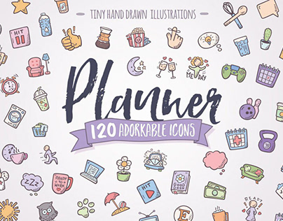 Planner - Hand Drawn Icons