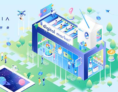 WENK MEDIA|Brand illustration