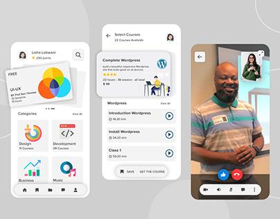 E-Learning App Design
