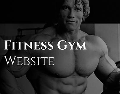 Fitness Gym Website