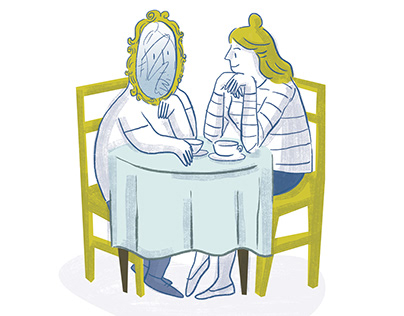Illustrations about relationships