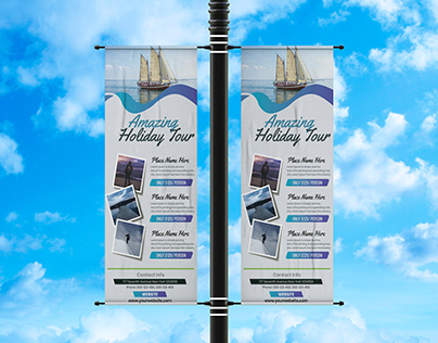 Rollup Banner For Tour and Travel