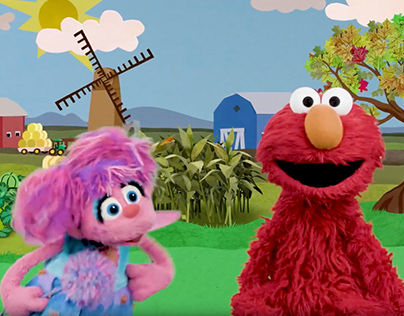 "Abby & Elmo ""I Spy Orange"""