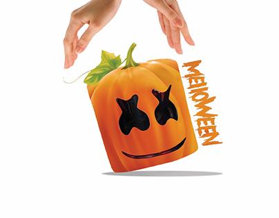Fanart for Halloween X Marshmello (DJ)