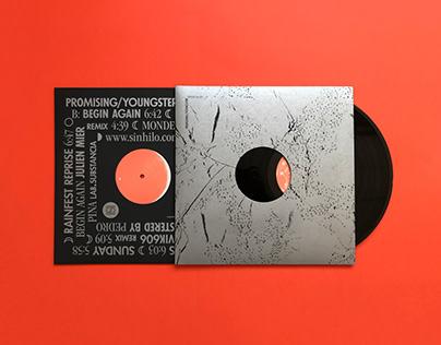 """""""Begin Again"""" Vinyl Artwork"""