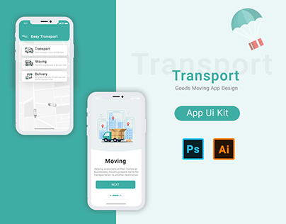 Logistic - Transport your Goods and track it