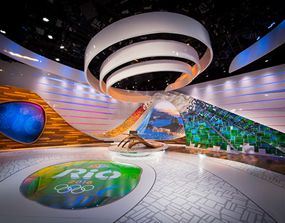 NBC Studio A Rio Summer Olympics